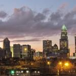 Charlotte Skyline dusk