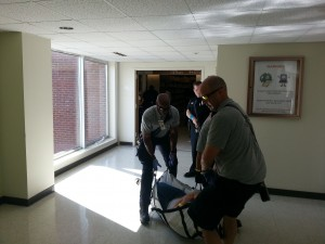 Fire Responding to Patient