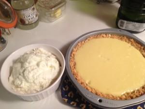 Atlantic Beach pie and homemade whipped cream.