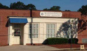 Kannapolis City Offices located in downtown Kannapolis.