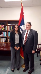 Myself with Assistant Secretary Strickling