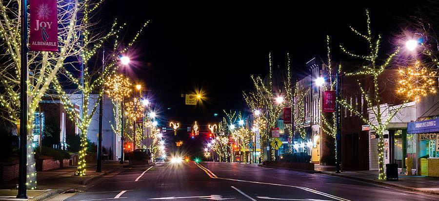 Downtown at Christmas